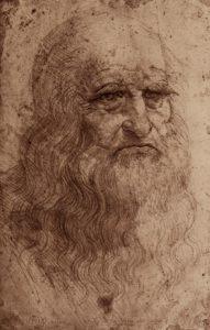 レオナルド・ダビンチの肖像